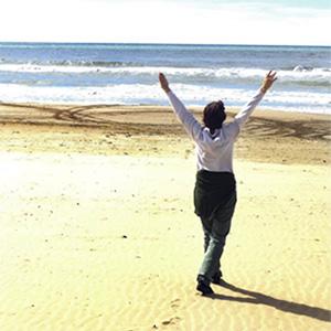valeria viganò spiaggia Capalbio